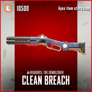 Clean Breach Peacekeeper legendary apex legends skin