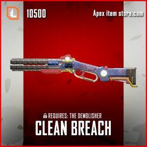 Clean Breach Peacekeeper legendary apex legends skin