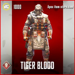 Tiger Blood caustic epic apex legends skin
