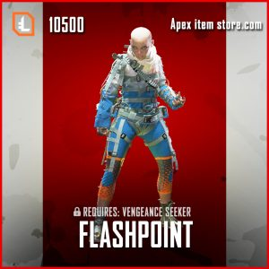 Flashpoint wraith legendary apex legends skin