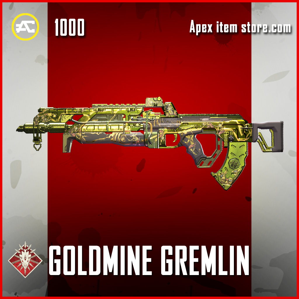 goldmine gremlin flatline epic apex legends skin