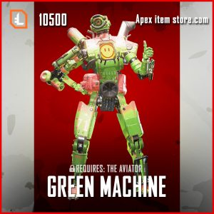 Green Machine Pathfinder legendary apex legends skin