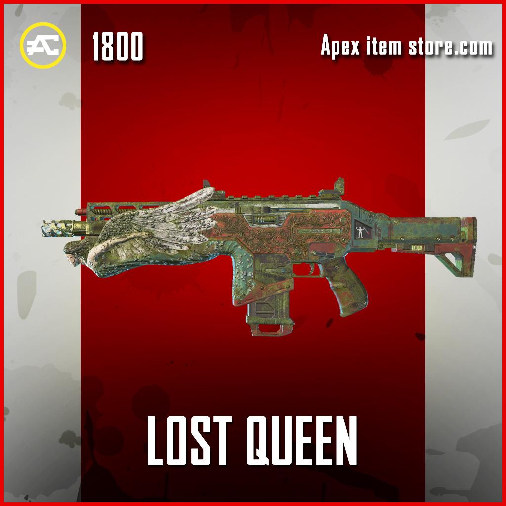 Lost Queen hemlok legendary apex legends skin