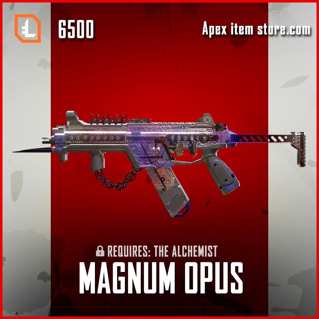 Magnum Opus R-99 legendary apex legends skin