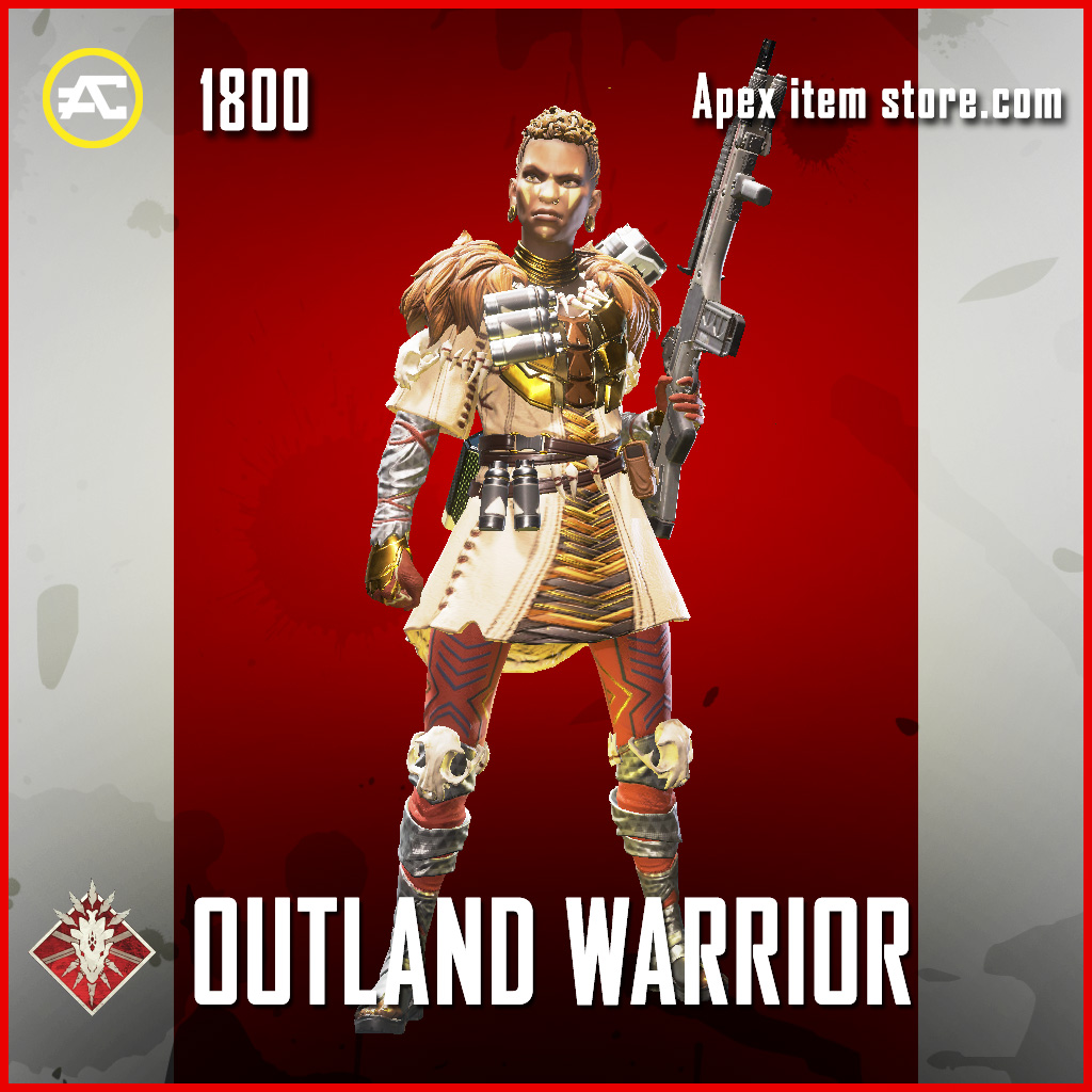 Outland warrior bangalore legendary apex legends skin