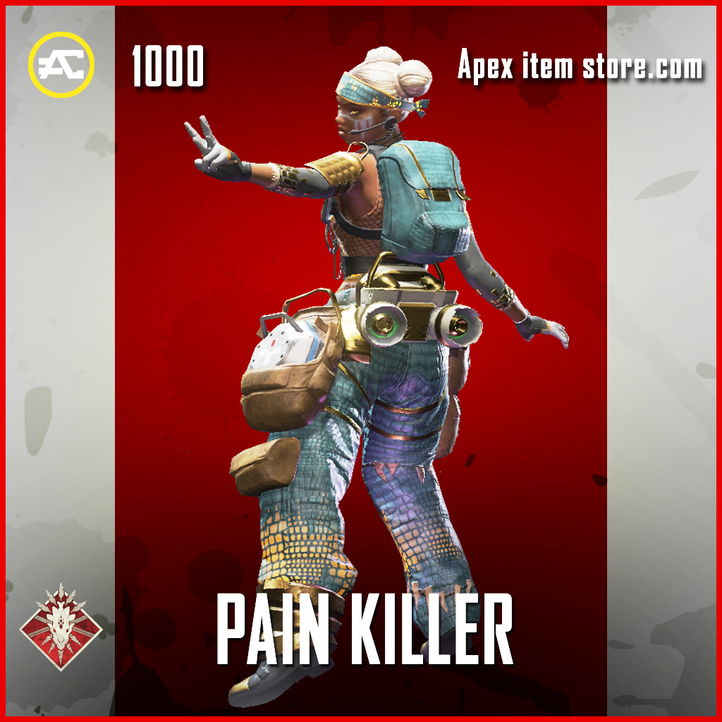 Pain Killer lifeline epic apex legends skin