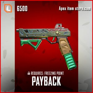 Payback RE-45 Legendary apex legends skin