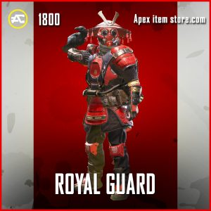 Royal Guard bloodhound legendary apex legends skin