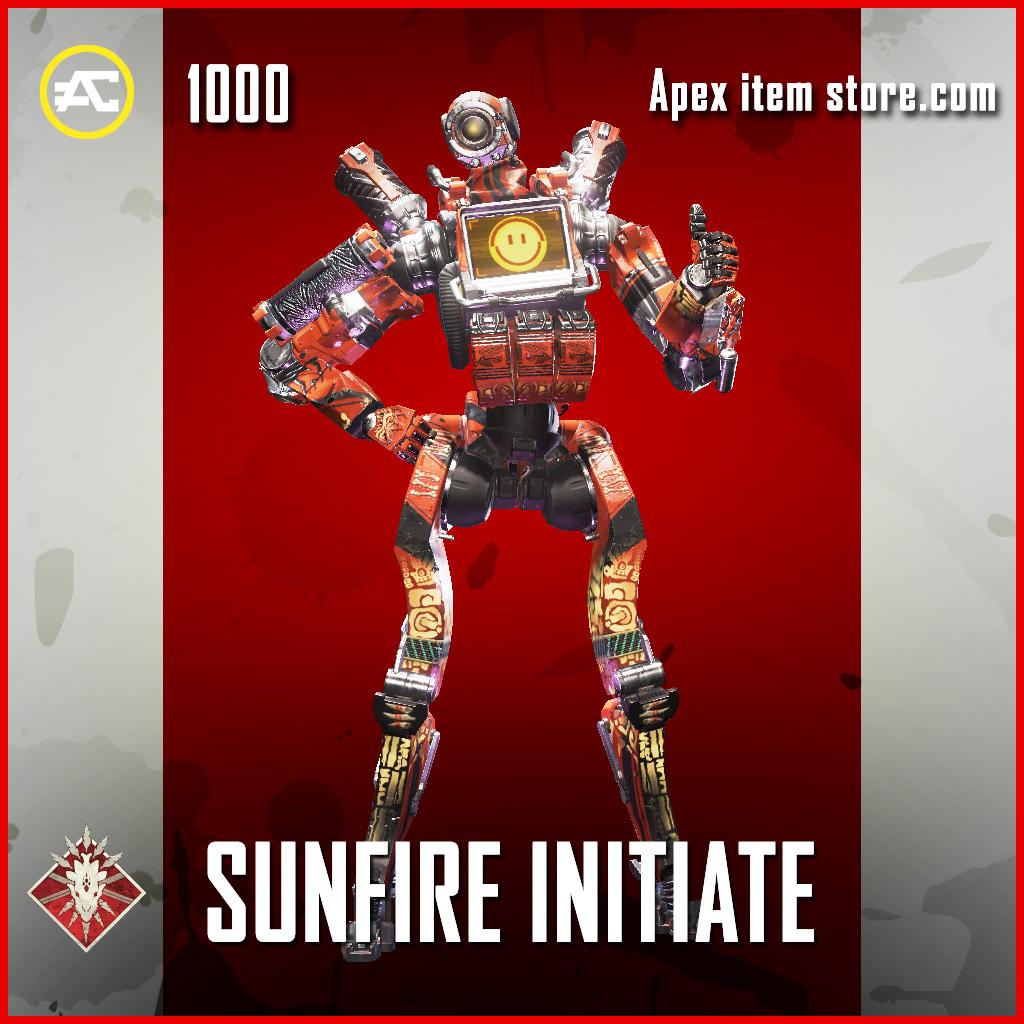 Sunfire initiate pathfinder epic apex legends skin