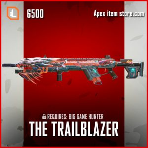 The Trailblazer longbow legendary apex legends skin