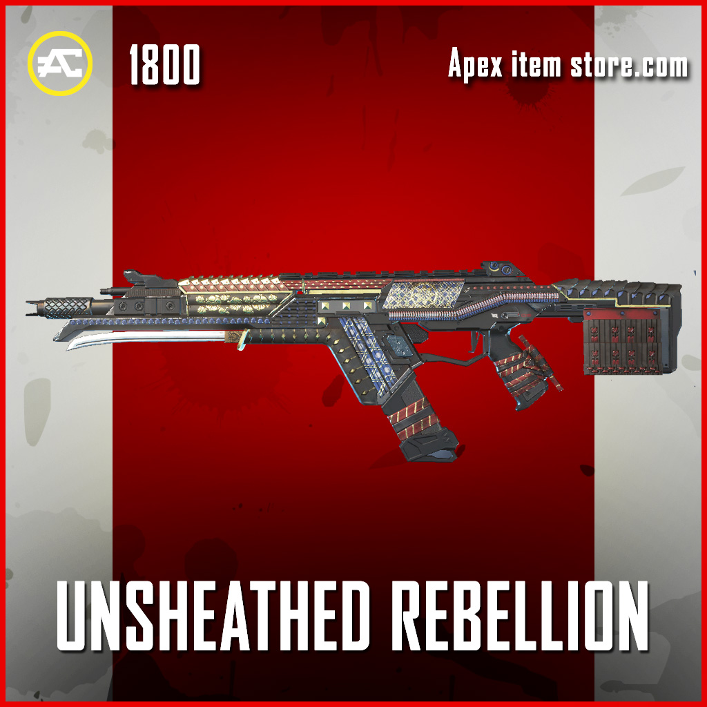 Unsheated Rebellion R-301 Legendary apex legends skin