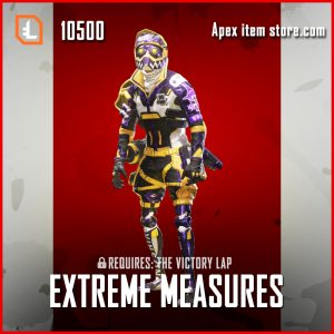 Extreme Measures Octane legendary apex legends skin