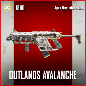 Outlands Avalanche R-99 Apex legensd skin