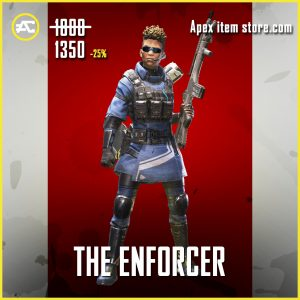 The Enforcer Bangalore legendary apex legends skin