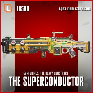 The Superconductor legendary Spitfire apex legends skin