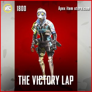 The Victory Lap Octane legendary apex legends skin