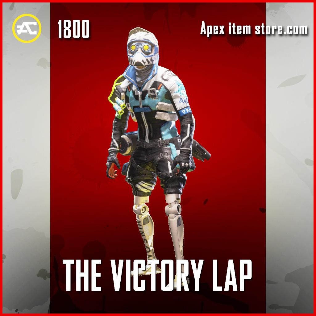 The Victory Lap Octane legendary apex legends skin