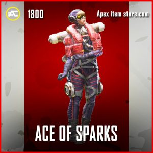 Ace of Sparks wattson legendary apex legends skin