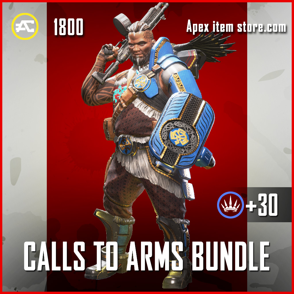 Call to Arms Bundle Gibraltar apex legends skin
