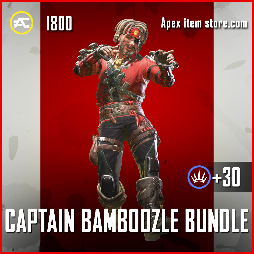 Captain Bamboozle Bundle Mirage Apex Legends skin
