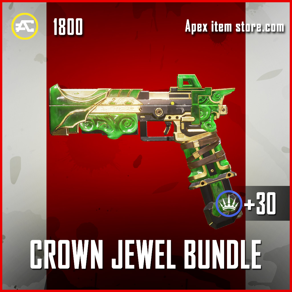 Crown Jewel Bundle RE-45 Apex legends skin