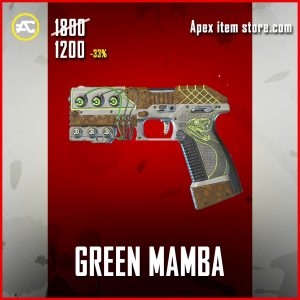 Green Mamba P2020 apex legends skin
