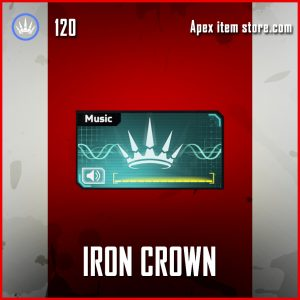 Iron Crown epic music pack apex legends
