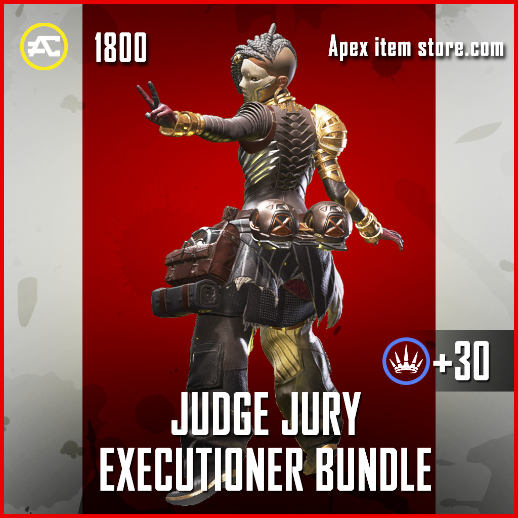 Judge Jury Executioner Bundle Lifeline Apex Legends skin