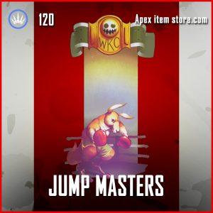 Jump Masters octane banner frame epic apex legends