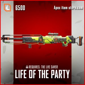 Life of the Party kraber legendary apex legends skin