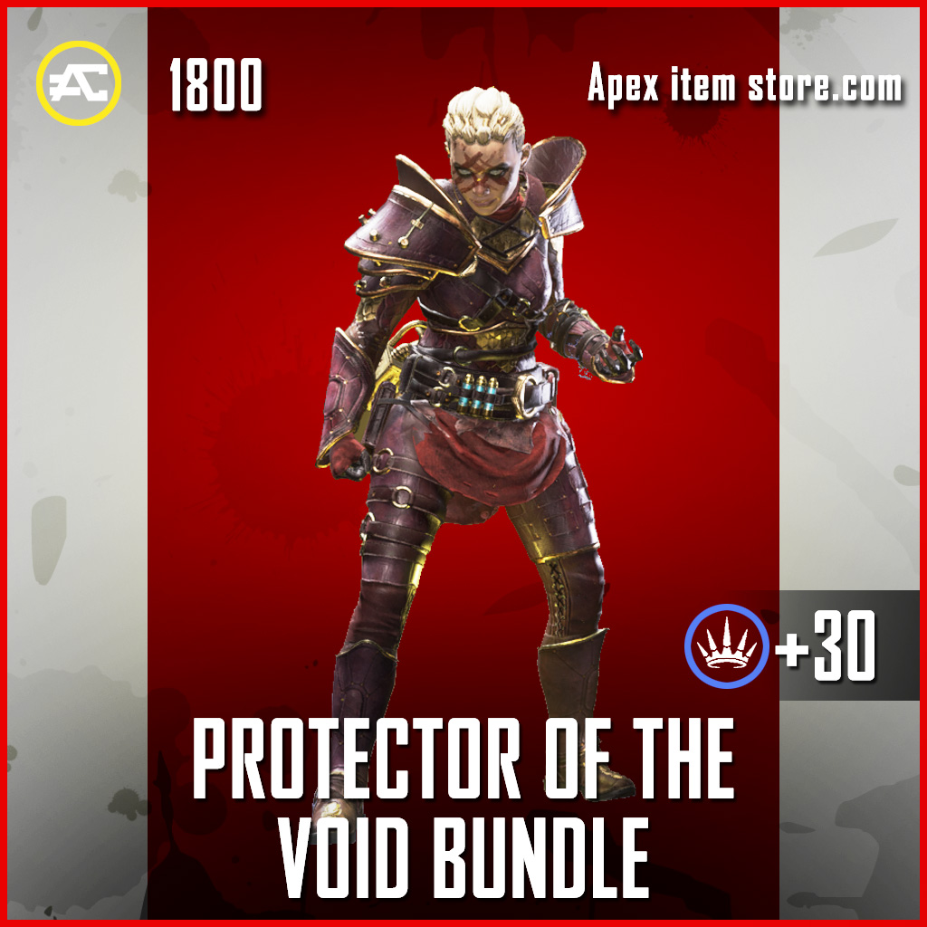 Protector of the Void Bundle Wraith Apex Legends skin