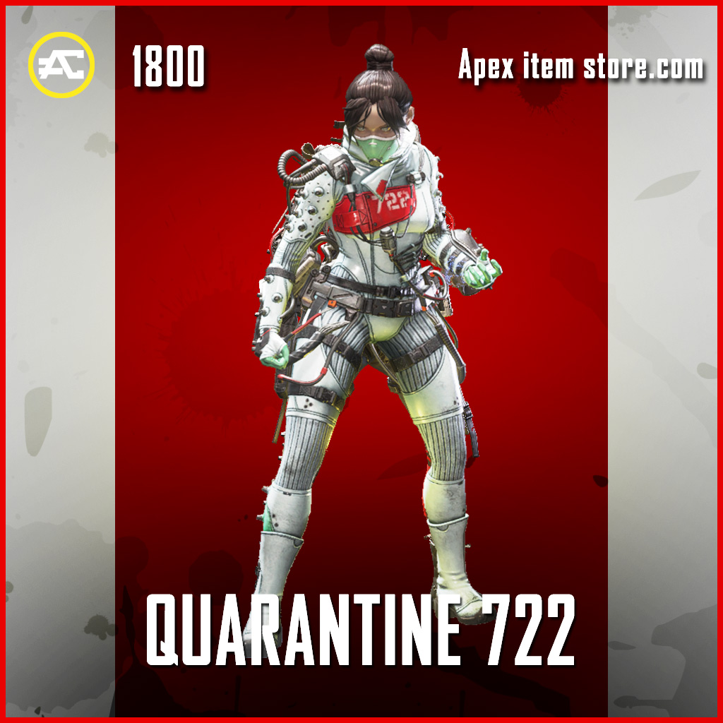 Quarantine 722 legendary wraith apex legends skin
