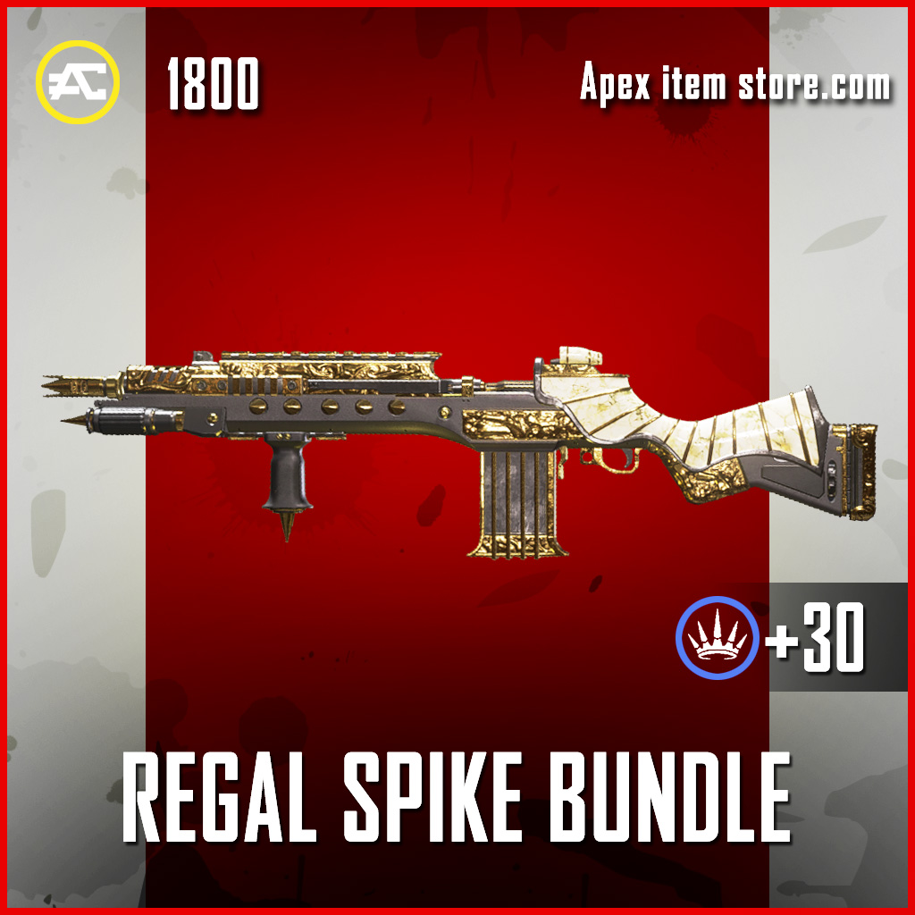 Regel Spike Bundle G7 Scout Apex Legends skin