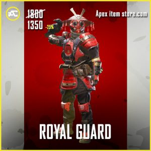 Royal Guard Bloodhound apex legends skin