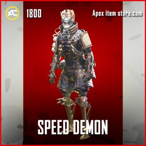Speed Demon octane legendary apex legends skin