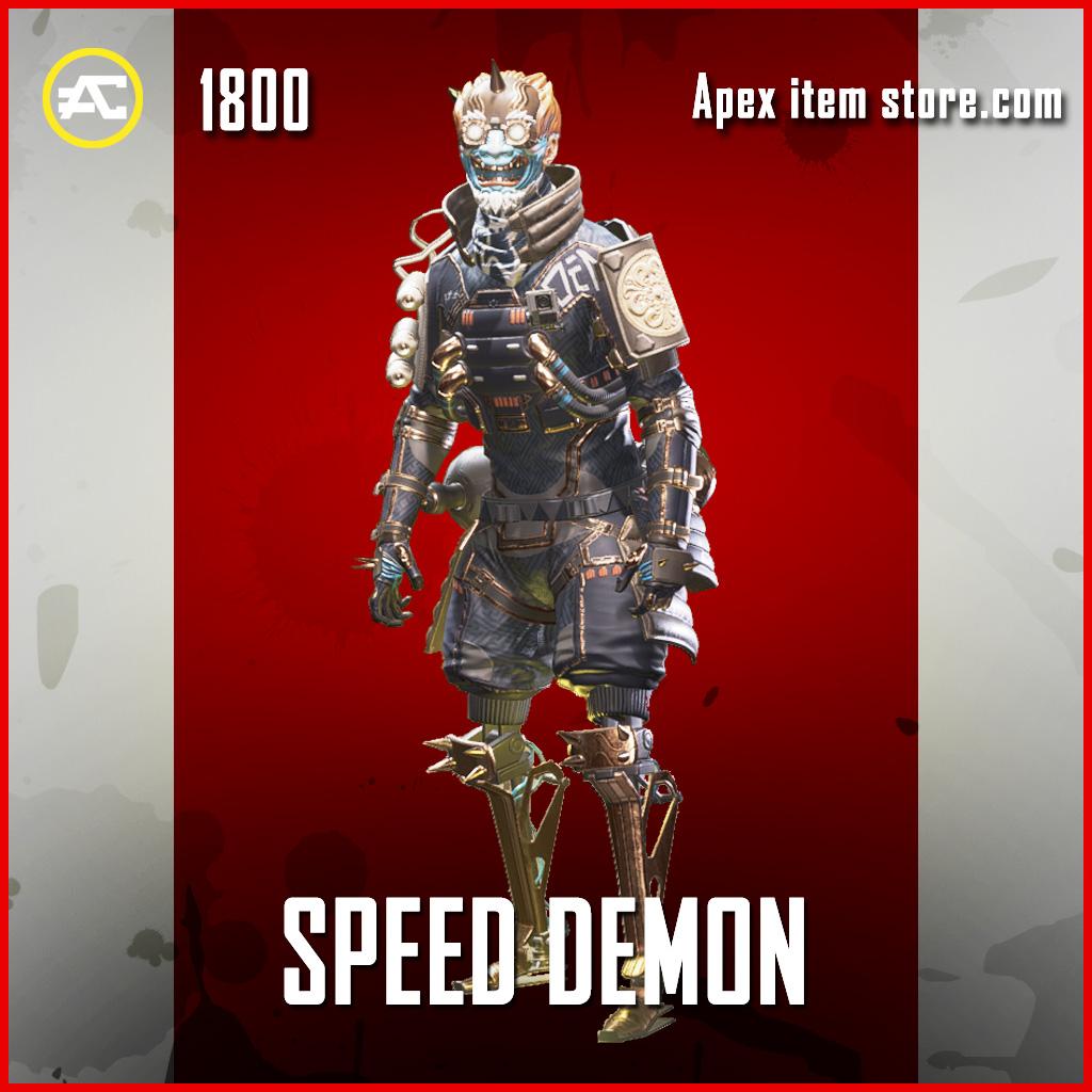 Speed Demon octane legendary apex legends skin