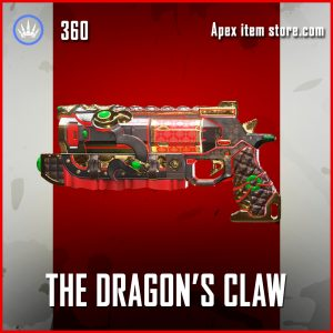 The Dragon's Claw legendary wingman apex legends skin