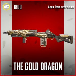 The Gold Dragon G7 Scout Legendary Apex Legends skin
