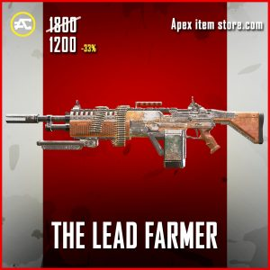 The Lead Farmer legendary  Devotion apex legends skin
