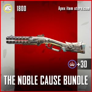 The Nobel Cause Bundle Peacekeeper apex legends skin