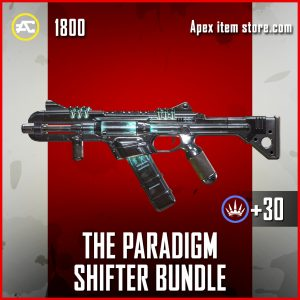 The Paradigm Shifter bundle RE-99 Apex Legends skin