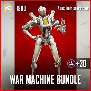 War Machine Bundle Pathfinder Apex Legends skin