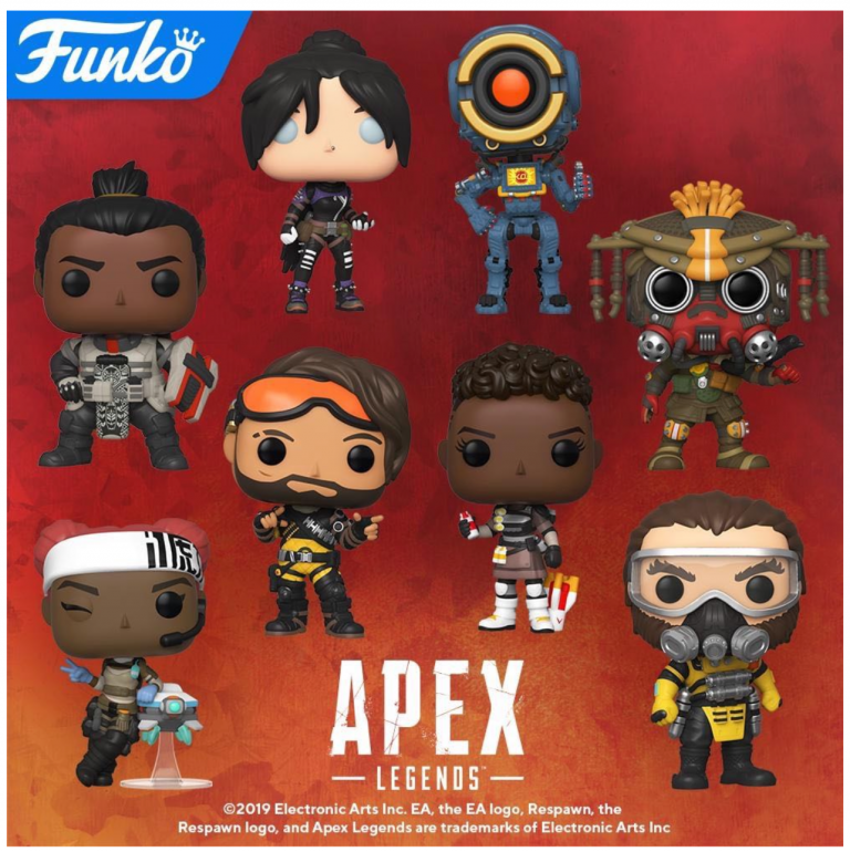 Apex Legends Funko Pop! Coming Soon