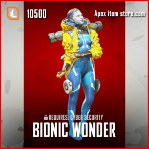 Bionic Wonder Wattson Legendary Apex Legends skin