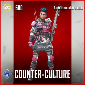 Counter-Culture Bangalore Rare Apex Legends Skin