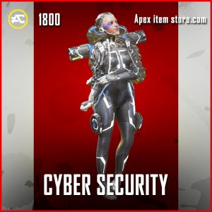 Cyber Security Wattson Legendary Apex Legends skin