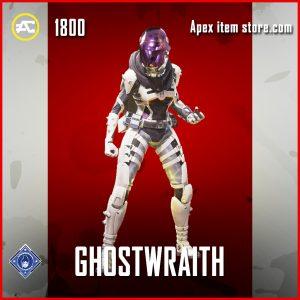 Ghostwraith wraith legendary apex legends skin