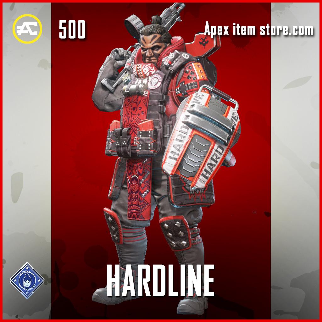 Hardline Gibraltar Rare Apex Legends Skin