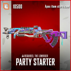 Party Starter Flatline Apex legends skin