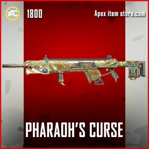 Pharaoh's Curse Longbow Legendary Apex Legends